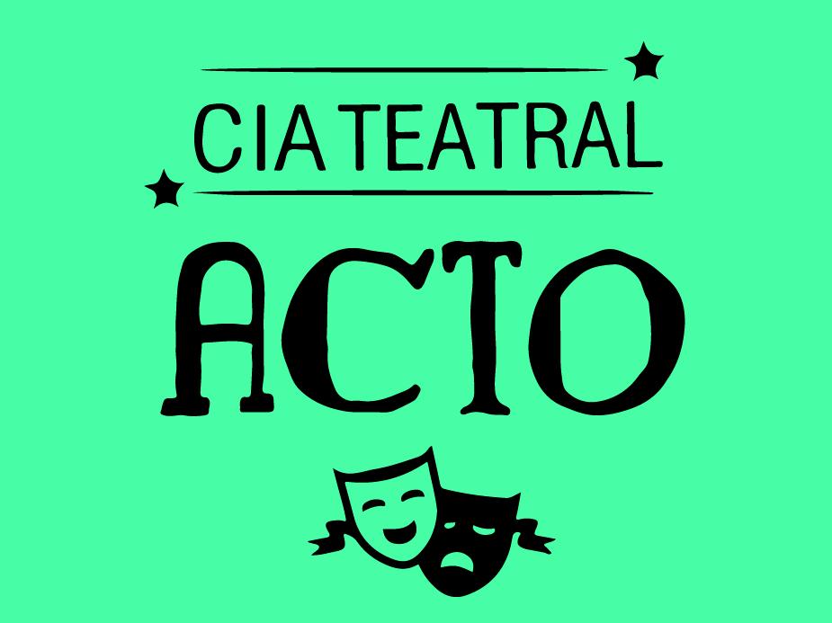 Logotipo Cia Teatral Acto