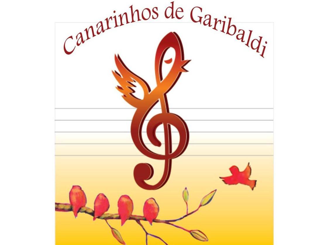 Logotipo Coral Show Canarinhos de Garibaldi