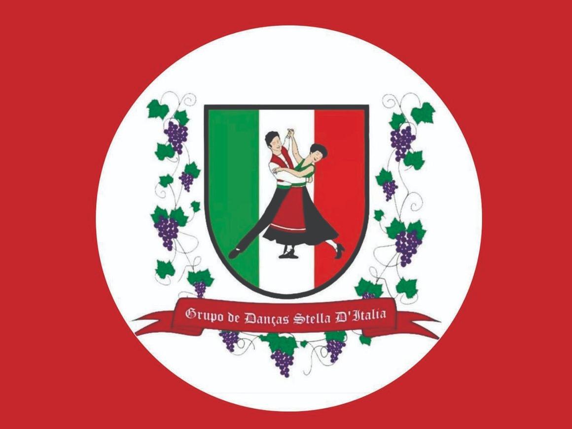 Logotipo Grupo de Danças Folclóricas Italianas Stella D'Itália