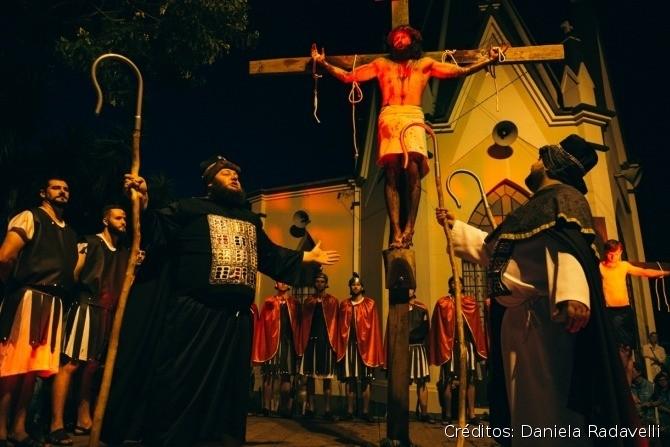 Foto Semana Santa emociona comunidade paroquial