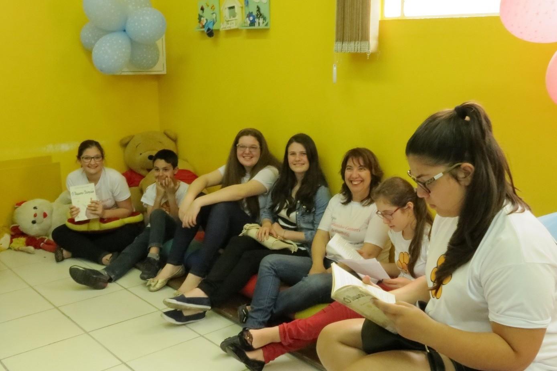 Foto Ensaio sobre a cegueira na edição junina do Clube de Leitura