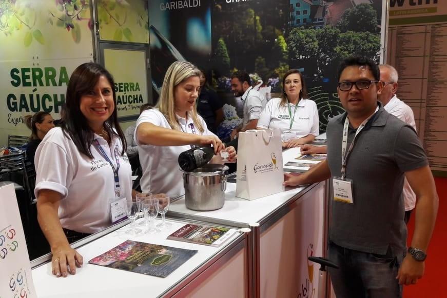 Foto Município intensifica a divulgação de seus atrativos em feiras de turismo