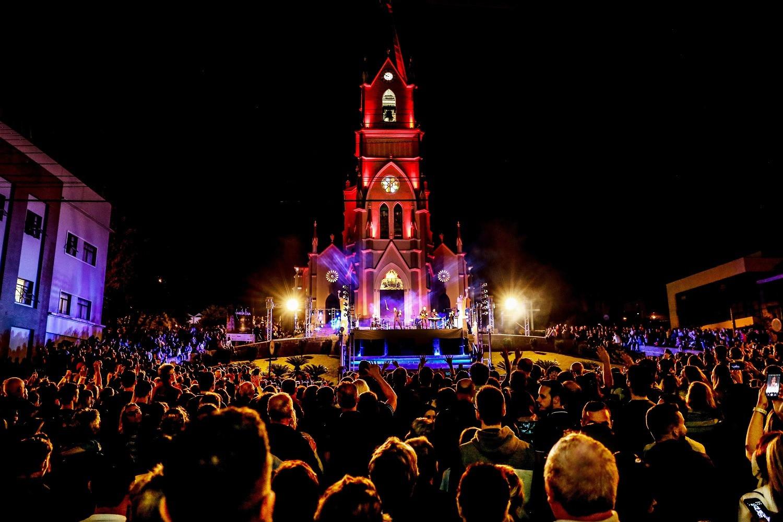 Foto Inauguração do Restauro da Igreja Matriz emociona público