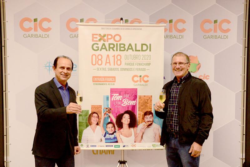 Foto de capa ExpoGaribaldi é lançada e já confirma 50% dos estandes vendidos