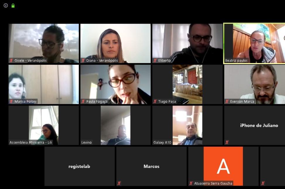 Foto Secretarias de Turismo da Região Uva e Vinho reúnem-se para buscar alternativas em meio à crise do COVID-19