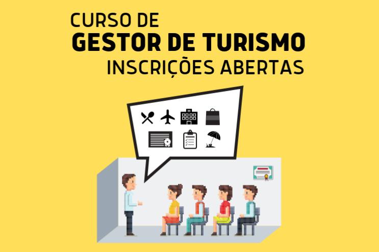 Foto Prorrogados os prazos para inscrição nos cursos de Gestor de Turismo e Atendimento ao Turista