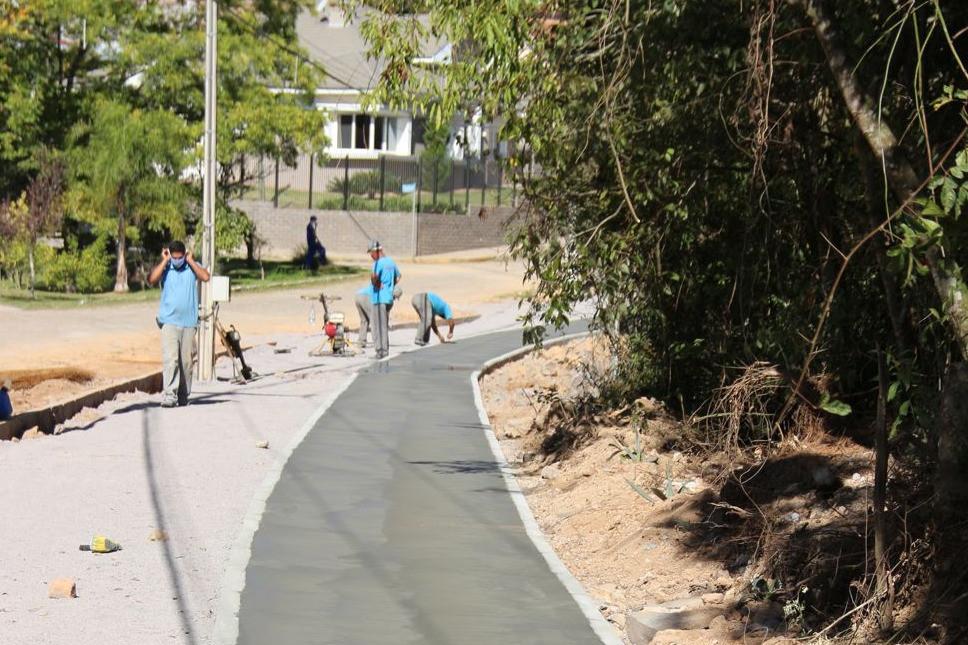 Foto Obras do Parque da Barragem seguem em andamento