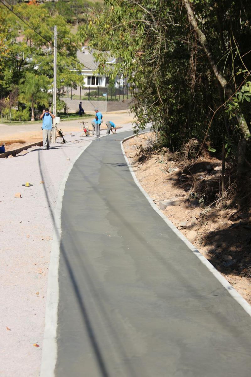 Foto de capa Obras do Parque da Barragem seguem em andamento