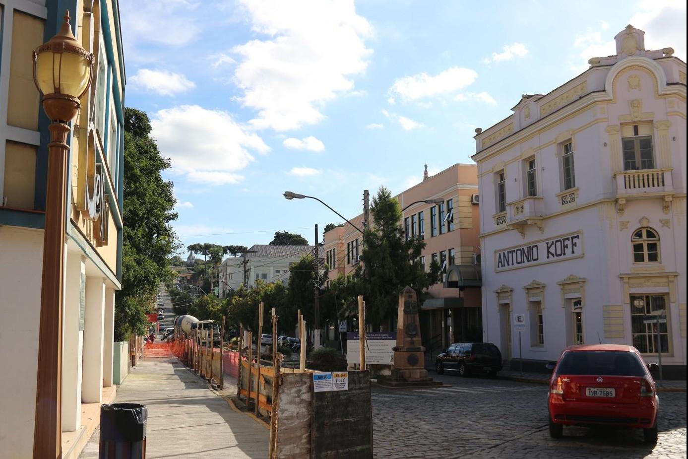 Foto Rua Júlio de Castilhos passa por processo de revitalização