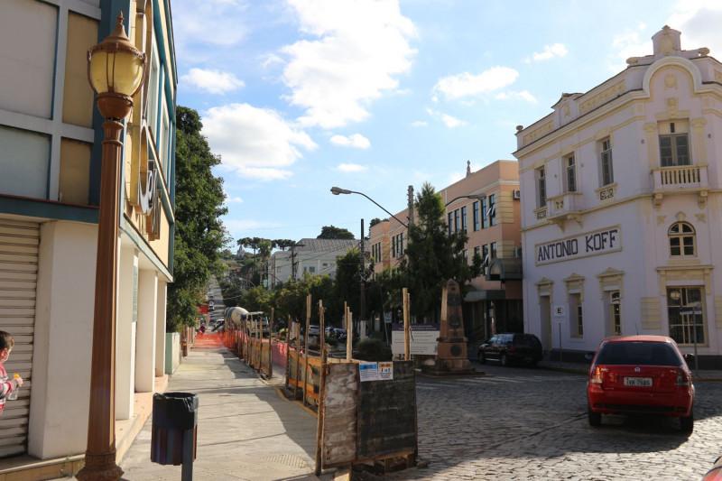 Foto de capa Rua Júlio de Castilhos passa por processo de revitalização