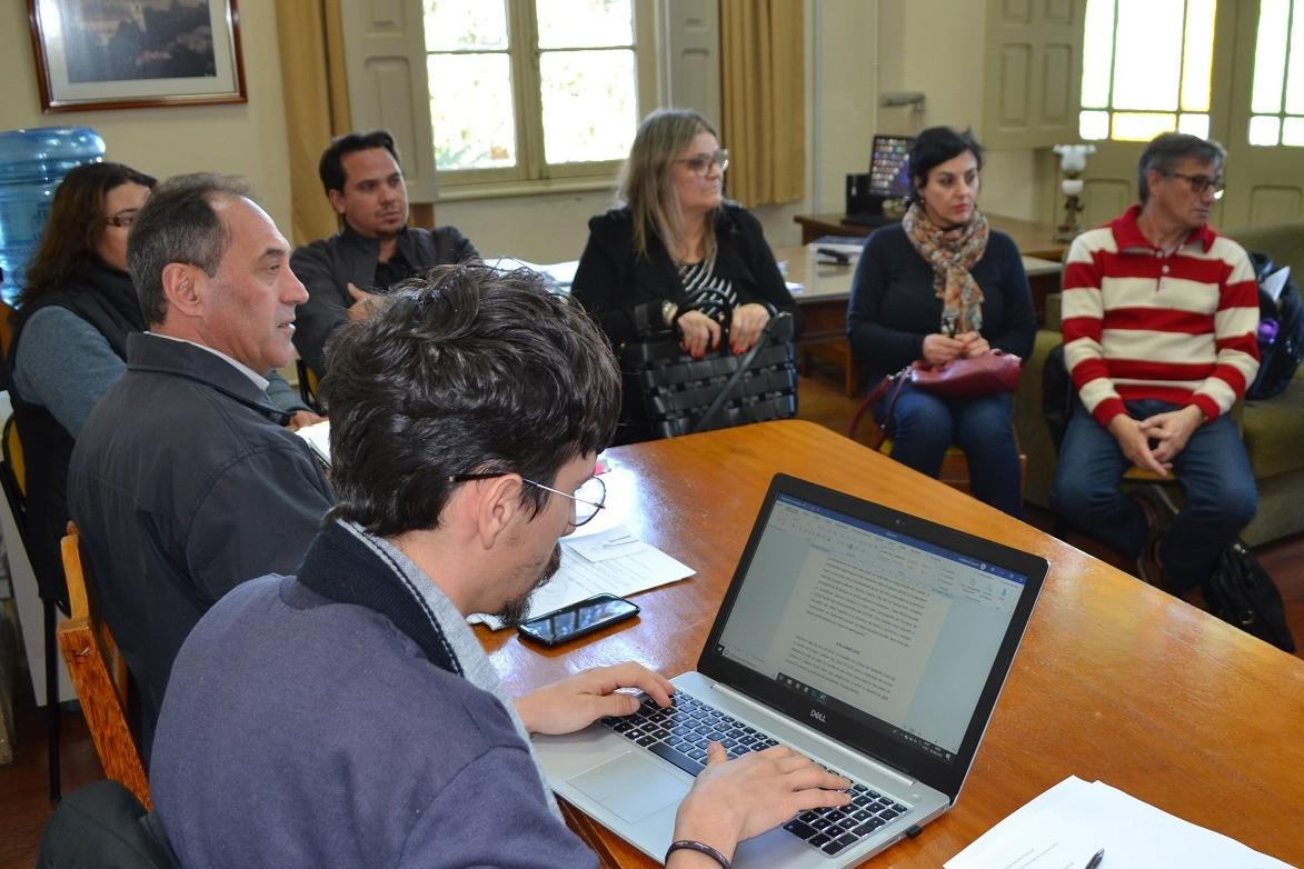 Foto Atualização do Plano Municipal da Cultura na pauta da Secretaria de Turismo e Cultura de Garibaldi