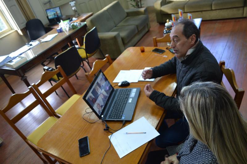 Foto de capa Reuniões virtuais para debater as ações do turismo e da cultura em Garibaldi