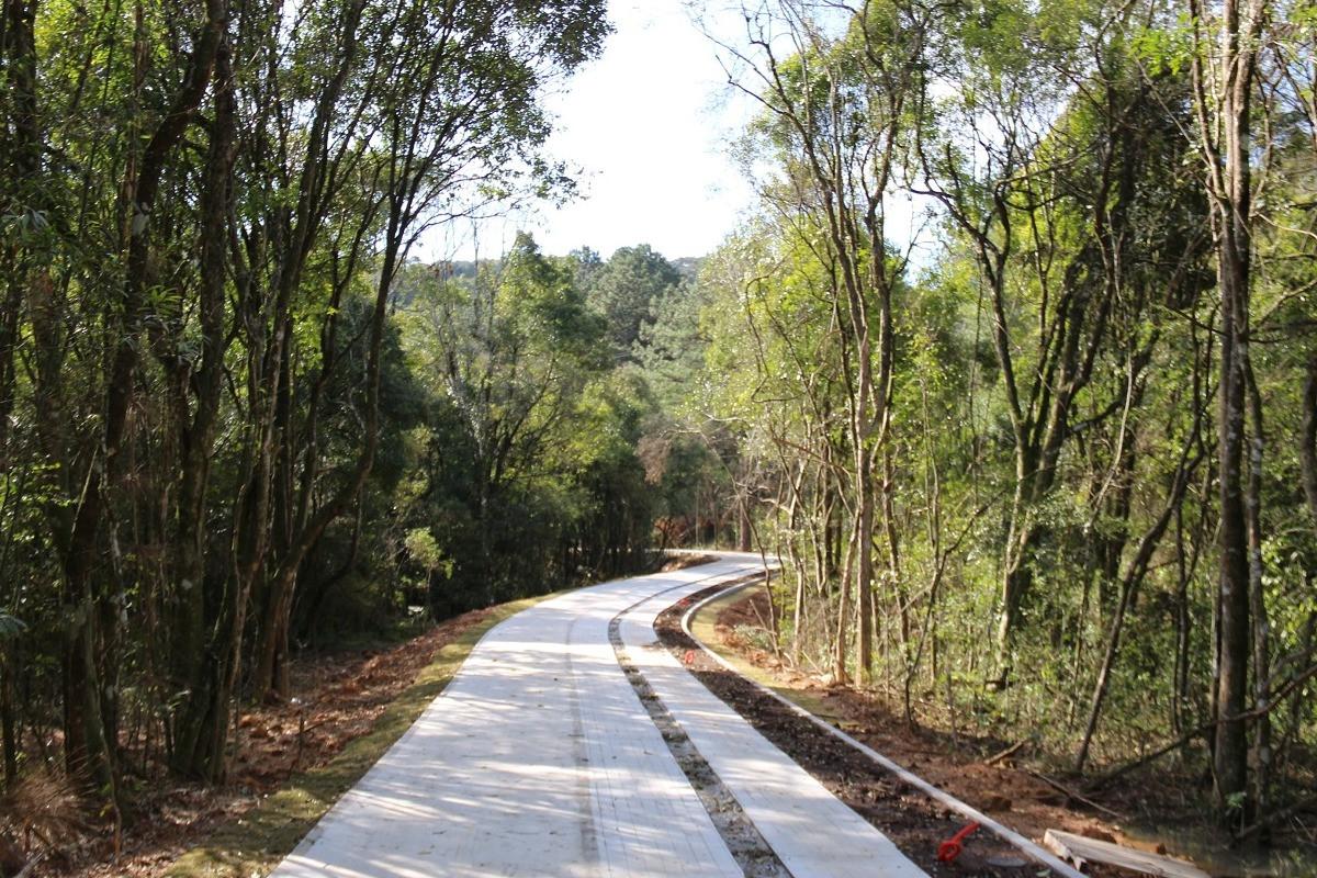 Foto Parque da Barragem: primeira etapa do passeio na reta final