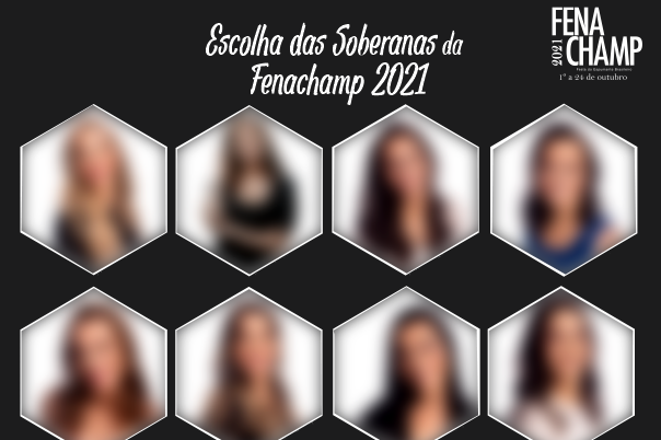 Foto Candidatas a soberanas da Fenachamp 2021 serão conhecidas na sexta-feira