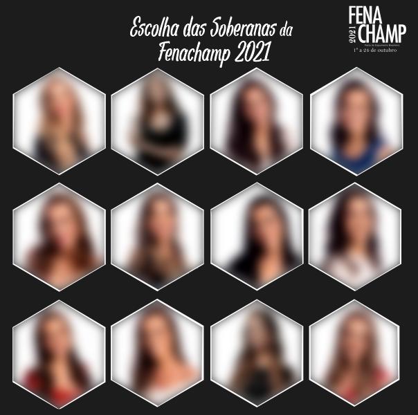 Foto de capa Candidatas a soberanas da Fenachamp 2021 serão conhecidas na sexta-feira
