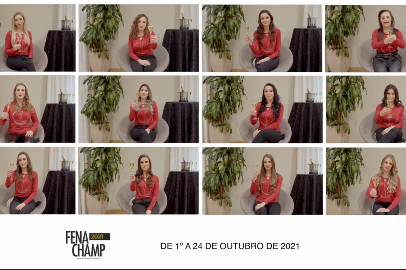 Foto Fenachamp 2021 divulga vídeo com candidatas à soberanas do evento