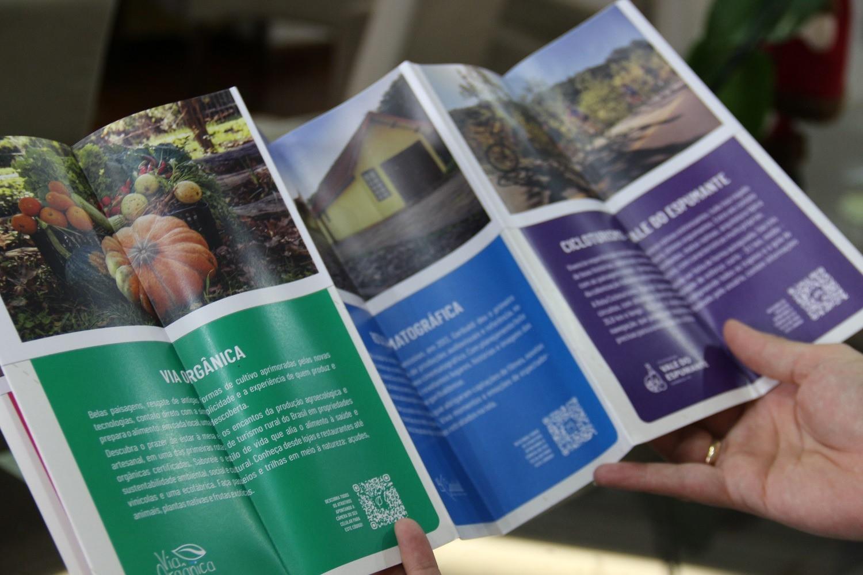 Foto Secretaria de Turismo e Cultura de Garibaldi lança novo material gráfico