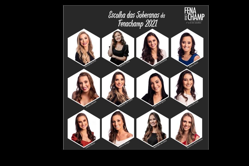 Foto Escolha das soberanas da Fenachamp será realizada sem a presença de público e com transmissão online