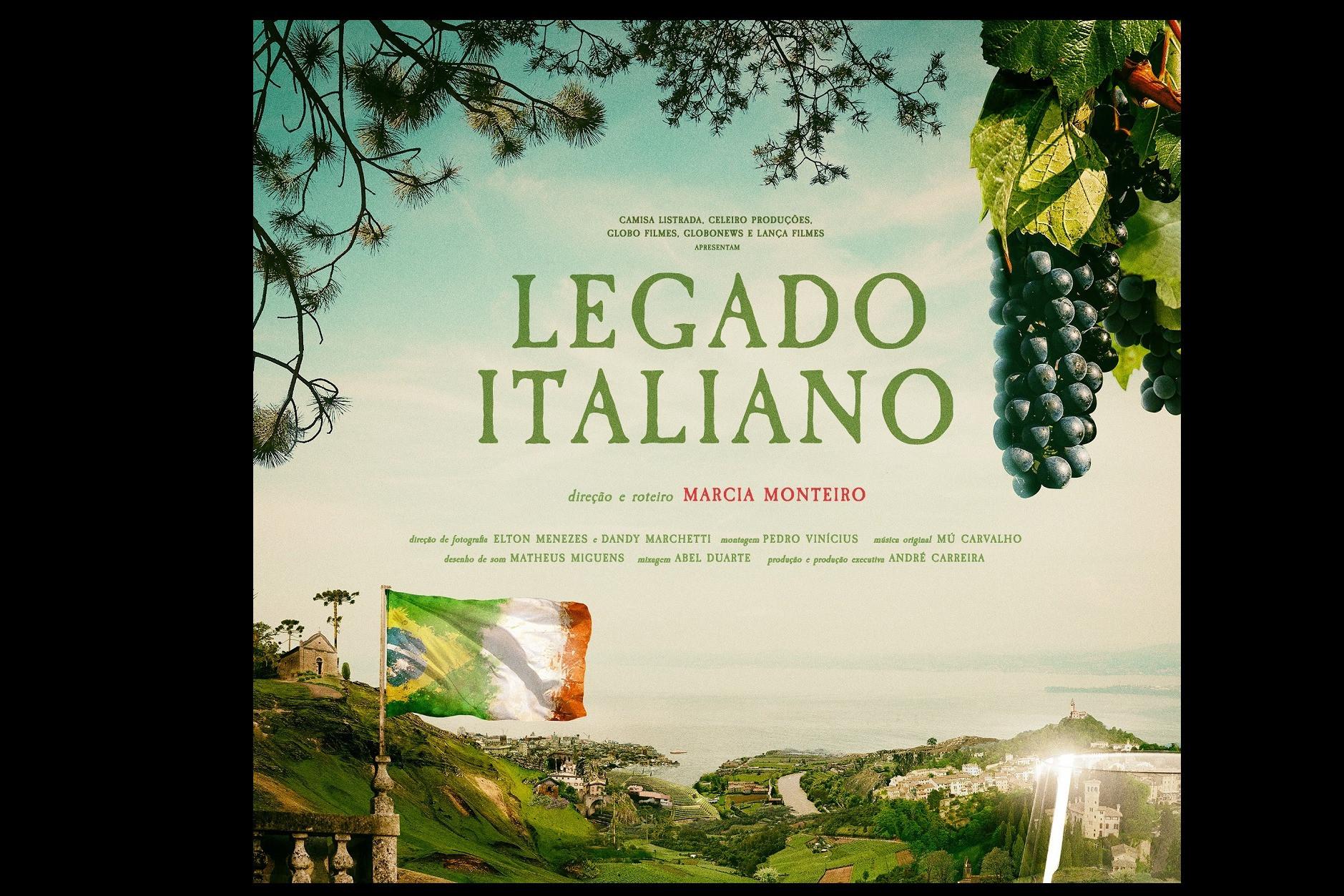 Foto Filme Legado Italiano, com cenas gravadas  em Garibaldi, revisita os 145 anos da imigração italiana no Brasil